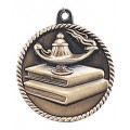 HR740  Medal -Lamp of Knowledge